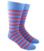 Men's Socks - TWILL STRIPE - POWDER
