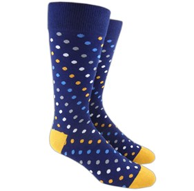 Spotlight Navy Men's Socks