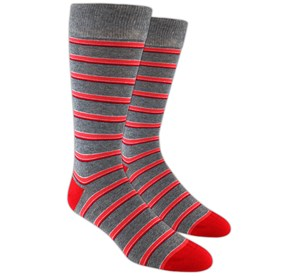 Reds Surfside Stripes mens socks