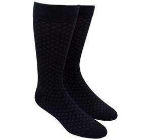 Black Speckled mens socks
