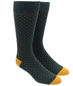 Men's Socks - MINI DOTS - HUNTER