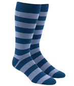 Men's Socks - SUPER STRIPE - Lavender