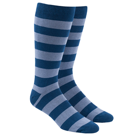 Lavender Super Stripe mens socks