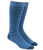 Men's Socks - WOODLAND STRIPE - BLUES