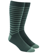 Men's Socks - WOODLAND STRIPE - GREENS