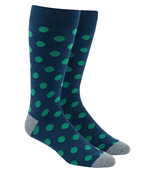 Men's Socks - COMMON DOTS - GREEN