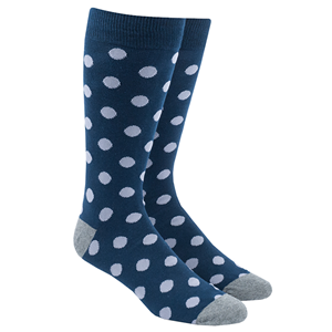 common dots lavender dress socks