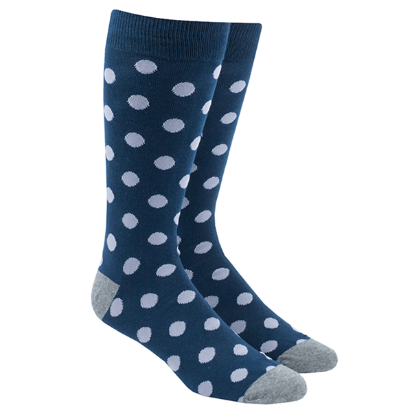 Lavender Common Dots Socks