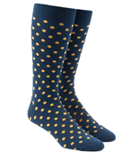 Men's Socks - CIRCUIT DOTS - GOLD