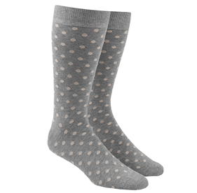 Khaki Circuit Dots mens socks