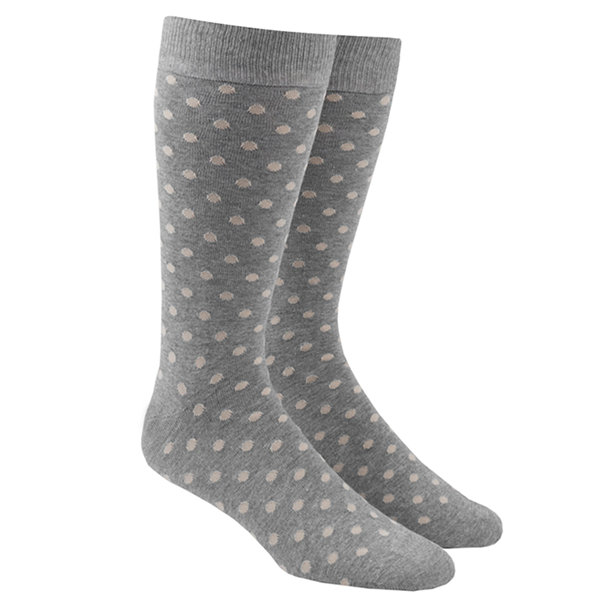 Khaki Circuit Dots Socks