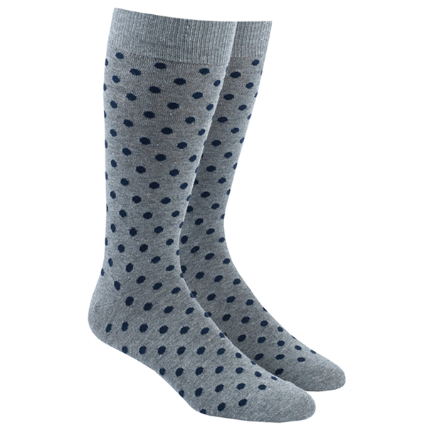 Navy Circuit Dots Socks