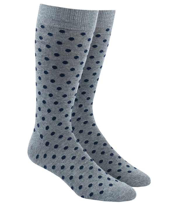 Circuit Dots Navy Socks