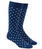Men's Socks - Circuit Dots - Grey