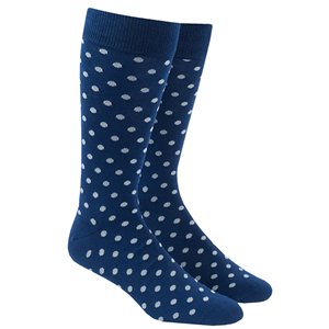 circuit dots grey dress socks