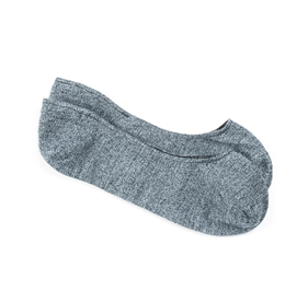 Textured Solid Blue Men's Socks