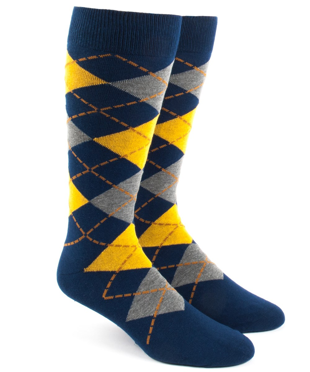 Yellow Argyle Socks Ties Bow Ties And Pocket Squares