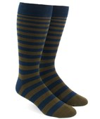 Men's Socks - Ombre Stripe - Army Green