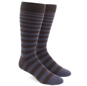 Ombre Stripe Purple Men's Socks