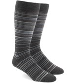 Multistripe - Greys - Men's Shoe Size 7-12 - Socks