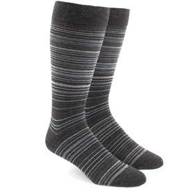 Multistripe Greys Men's Socks