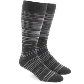 Multistripe Greys Dress Socks