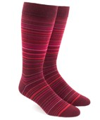 Men's Socks - Multistripe - Reds