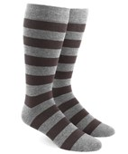 Men's Socks - Super Stripe - Brown