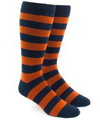 Men's Socks - Super Stripe - Orange