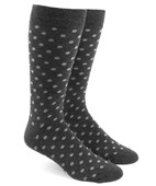 Men's Socks - Circuit Dots - Charcoal