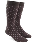 Men's Socks - Circuit Dots - Brown