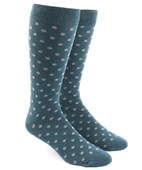 Men's Socks - Circuit Dots - Teal