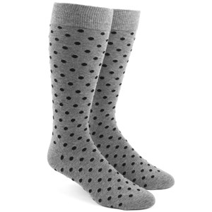 circuit dots black dress socks