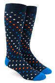 Men's Socks - Spotlight - Tangerine