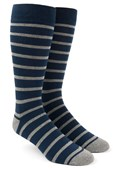 Men's Socks - TRAD STRIPE - Grey