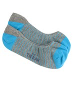 Men's Socks - Pencil Stripe - Turquoise