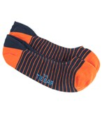 Men's Socks - PENCIL STRIPE - TANGERINE