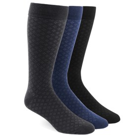 The Speckled Sock Pack Black Men's Socks