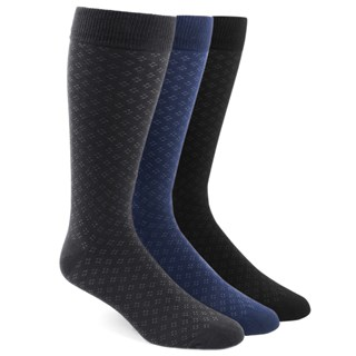 the speckled sock pack black dress socks