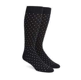 Confetti Black Men's Socks