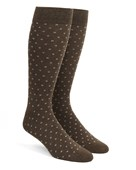 Men's Socks - Confetti - Brown