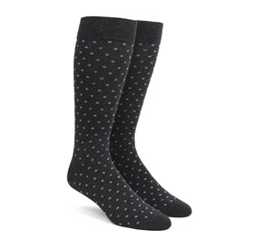 Charcoal Confetti mens socks