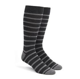 Trad Stripe Greys Men's Socks