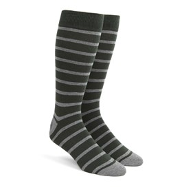 Trad Stripe Hunter Men's Socks