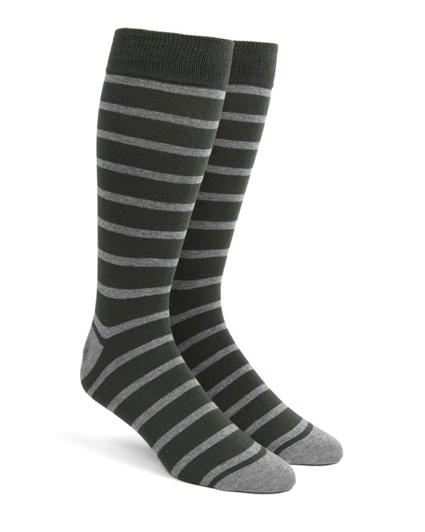 Trad Stripe Hunter Socks