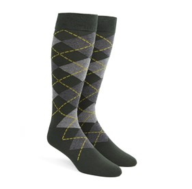 Hunter Argyle mens socks