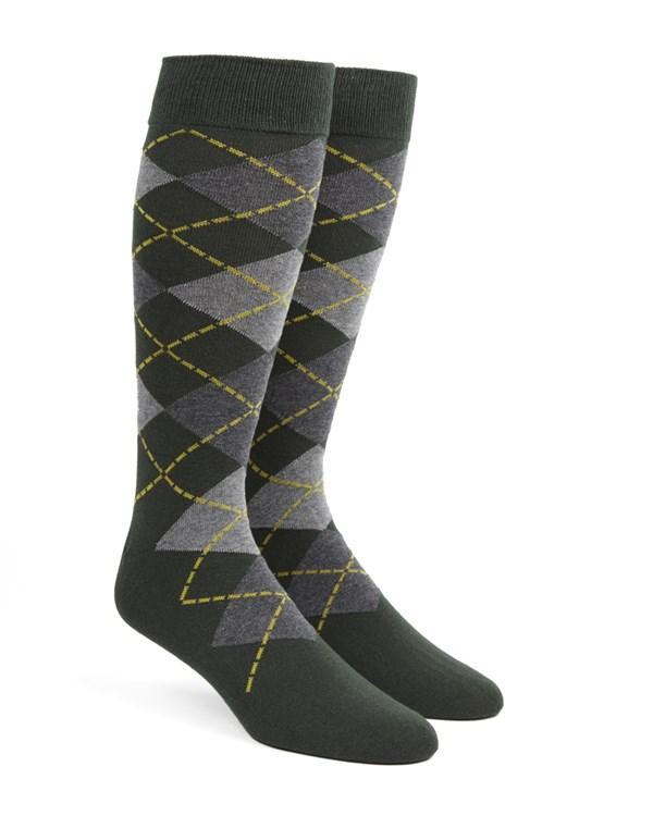 Argyle Hunter Socks