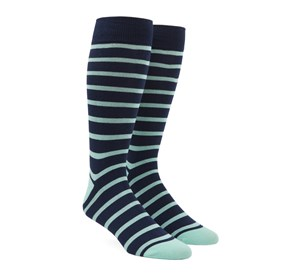 Trad Stripe Spearmint Men's Socks