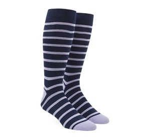 Trad Stripe Lilac Men's Socks