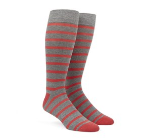 Coral Trad Stripe mens socks